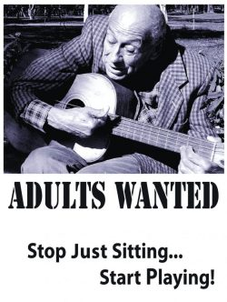 PTA Adults Wanted Poster
