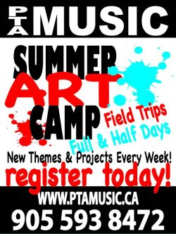 PTA Summer Art Camp