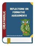 thumbnail of Formative Assessment Reflections